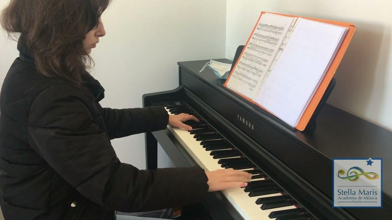 Alunos de Piano - Apresentações Final de Ano