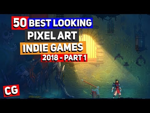 50 BEST LOOKING Pixel Art Indie Games Of 2018 - Part 1: Dead Cells, Desert Child, FoxTail & More!