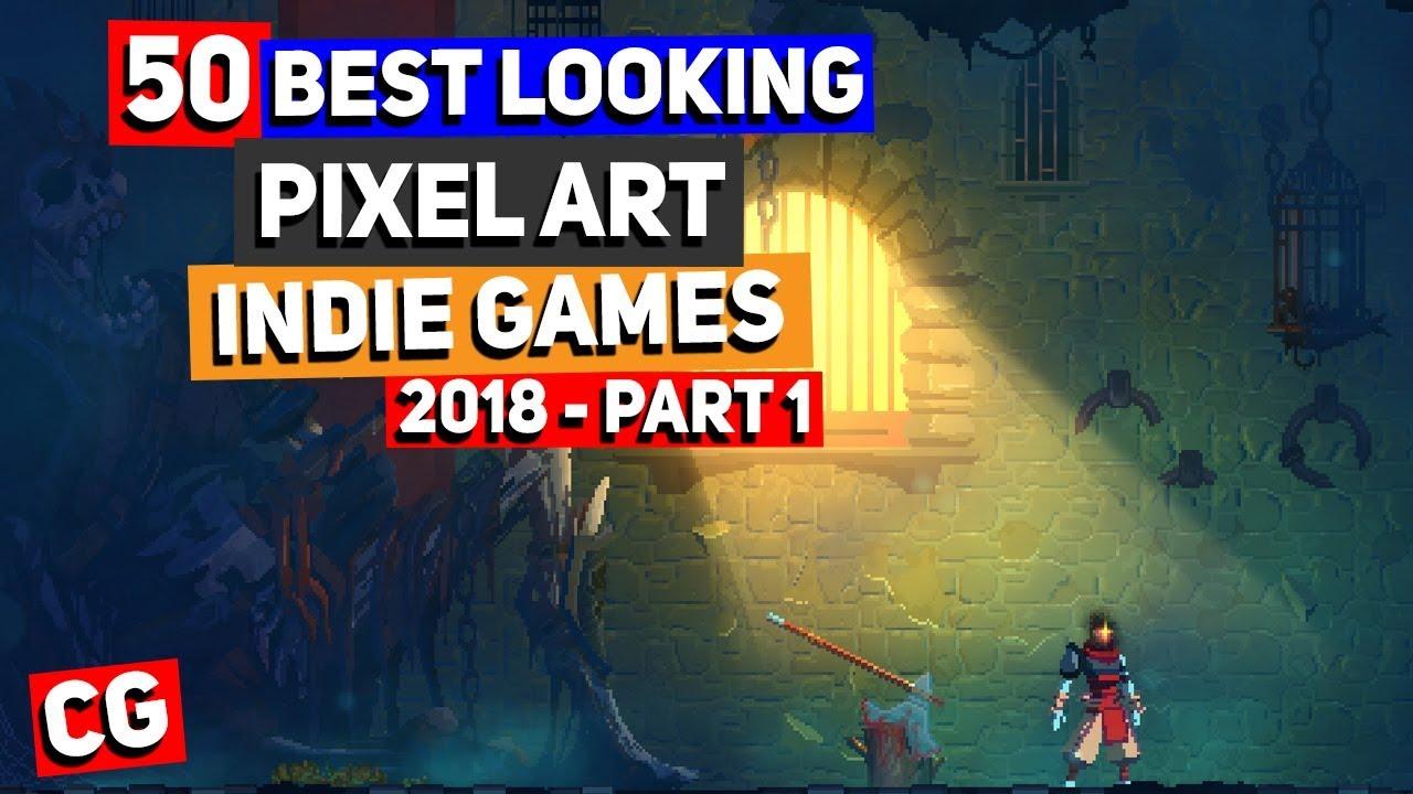 3938a16b5ec 50 BEST LOOKING Pixel Art Indie Games of 2018 - Part 1  Dead Cells ...