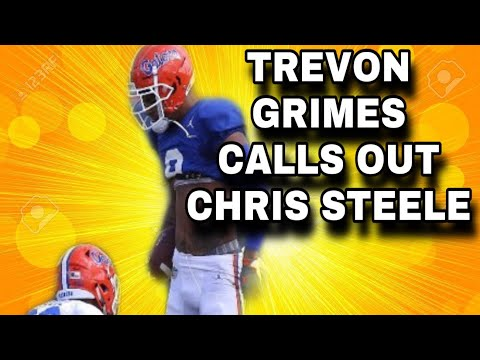 Florida WR TREVON GRIMES Calls Out Chris Steele And Chris Steele Update!   Florida Gators Football