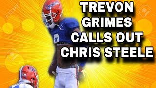 Florida WR TREVON GRIMES Calls Out Chris Steele and Chris Steele Update! | Florida Gators Football