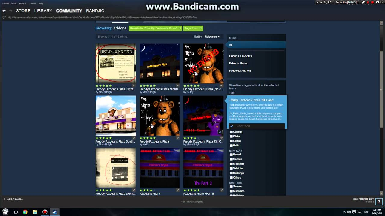 How To Download Five Nights at Freddy's Map For Gmod garry's mod STEAM