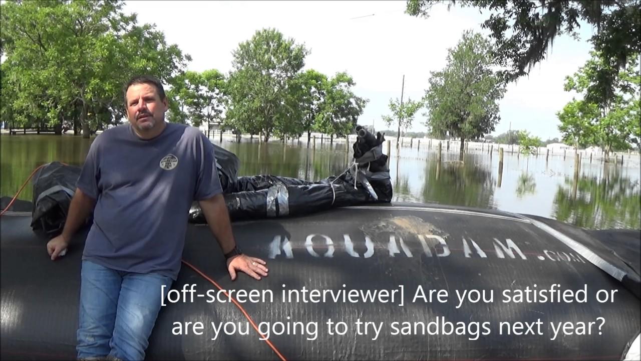 Homeowner Flood Control Testimonial - Randy Wagner - Rosharon TX 2016