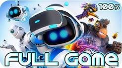 Astro Bot: Rescue Mission Walkthrough 100% FULL GAME Longplay (PS4 PSVR)