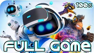 Astro Bot: Rescue Mission Walkthrough 100% FULL GAME Longplay (PS4 PSVR)