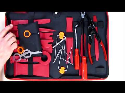 Review ADPOW 25PCS Car Trim Removal Tools Kit And Car Audio Removal Keys