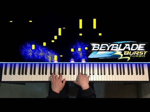 Beyblade Burst Turbo - Theme Song (Piano Cover)