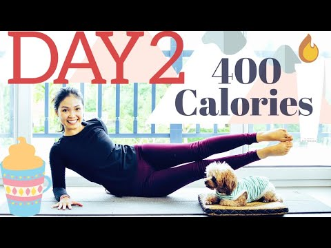 Day 2 | Eggnog Cardio Burn | 7 Day Holiday Pilates Challenge