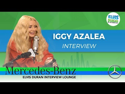 Iggy Azalea on New Album 'Surviving The Summer' | Elvis Duran Show
