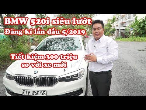 [xe đã Bán] BMW 520i siêu lướt đăng kí 5/2019 đi 1.500km mới 99.999%    0901226669  Đạt channel