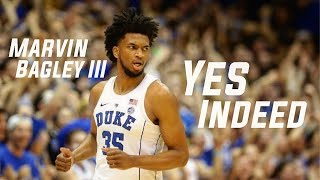"""Marvin Bagley Mix- """"Yes Indeed""""(ft. Drake) Draft prospect 2018 HD"""