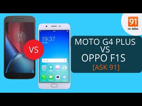 OPPO F1s vs Moto G4 Plus Comparison - Which one is a better buy? [ASK91]