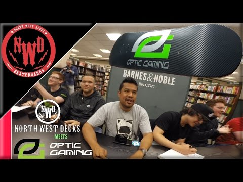 North West Decks Meets OPTIC GAMING!!!