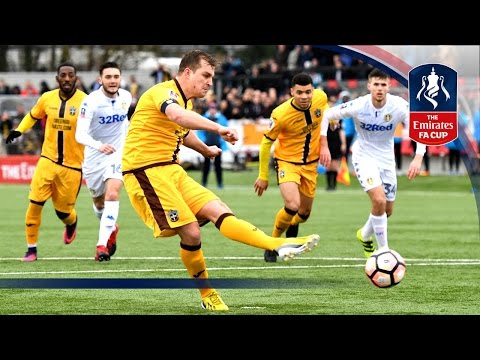 Sutton United 1-0 Leeds United - Emirates FA Cup 2016/17 (R4) | Official Highlights
