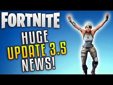 "Fortnite Save The World Update 3.5 News! ""Fortnite Perk Rerolls"" Fortnite New Event Heroes"