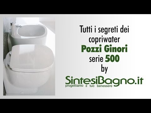 Sedile Copriwater Pozzi Ginori Serie 500.Copriwater Originale Vs Dedicato Pozzi Ginori Serie 500