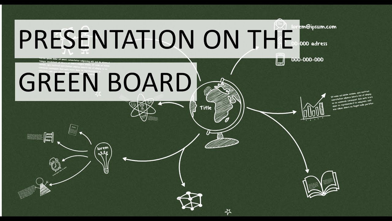 Prezi presentation for school with greenboard youtube for Prezi templates for teachers