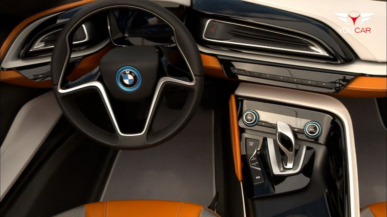 Bmw I8 Spyder Interior Youtube