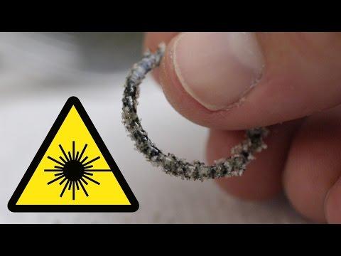Can a Laser Melt Sand?