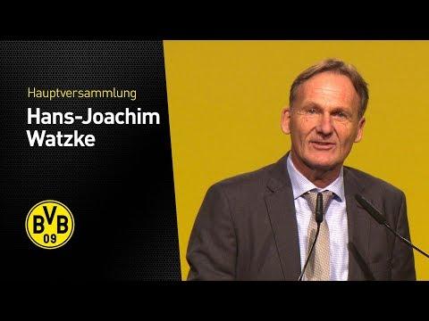 Hans-Joachim Watzke Auf Der Hauptversammlung 2017