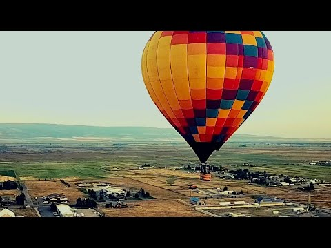 DJI Drone Collides With Hot Air Balloon