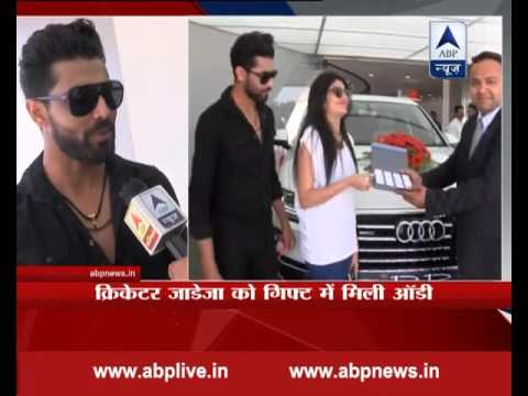 Everyone should get such parents in law: Ravindra Jadeja after getting Audi car as marriage gift