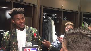 10/19/2018: Jimmy Butler After Home Opener