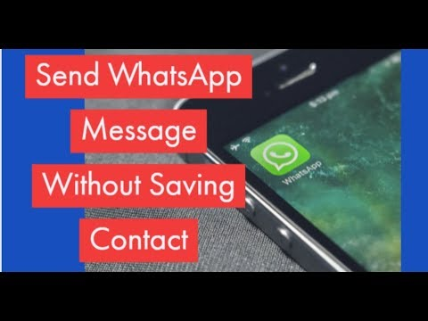 How To Send WhatsApp Message To Unsaved Number in Phone