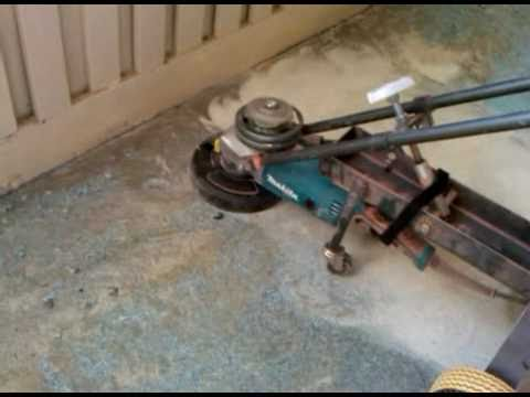 Epoxy Coating Removal/ Floor Grinder