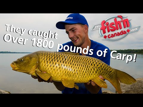Canada's Journey To The World Carp Classic | Fish'n Canada