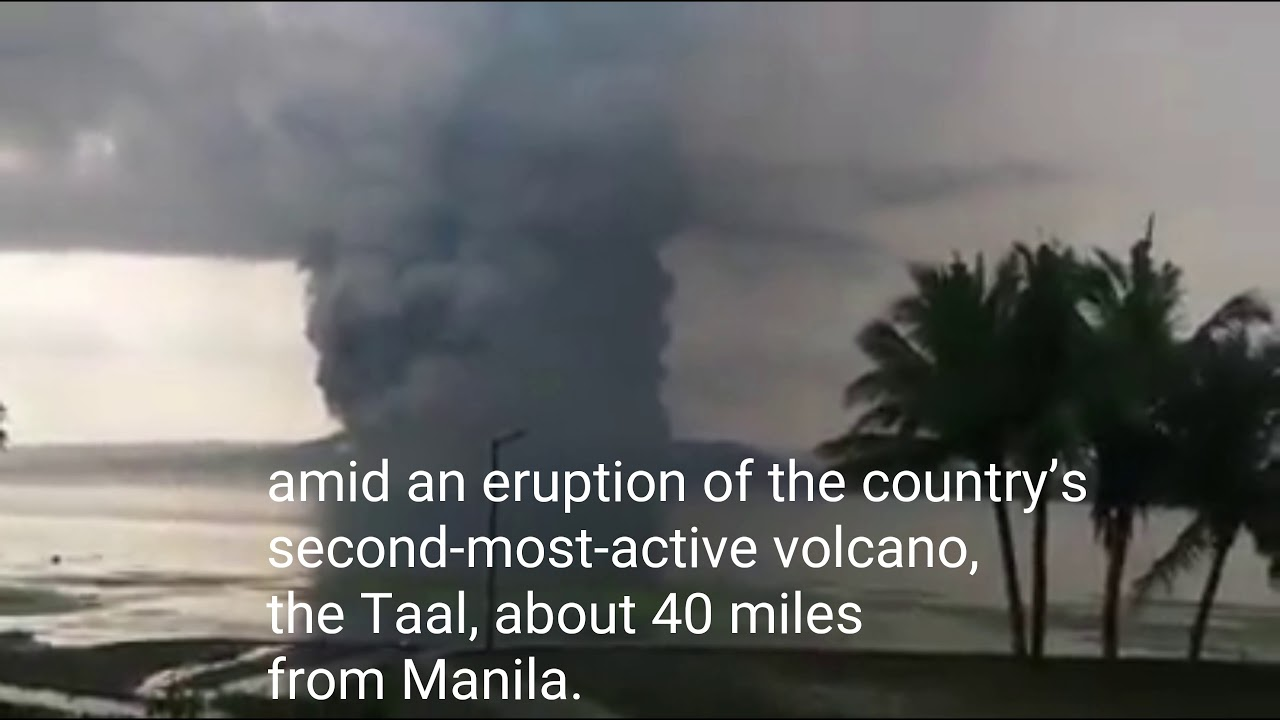 Warnings of 'Volcanic Tsunami' After Eruption in the Philippines