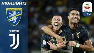 Frosinone 0-2 Juventus   Ronaldo e Bernardeschi In Gol. Quinta Vittoria Bianconera Di Fila   Serie A