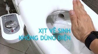 Trên tay Luva bidet: Xịt vệ sinh không dùng điện, giá rẻ, dễ dùng
