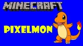 Pixelmon #1- Charmander - Minecraft