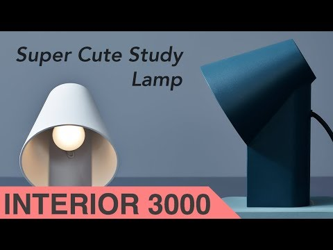 Cute and Beautiful: Study Table Lamp Design by MSDS for Woud