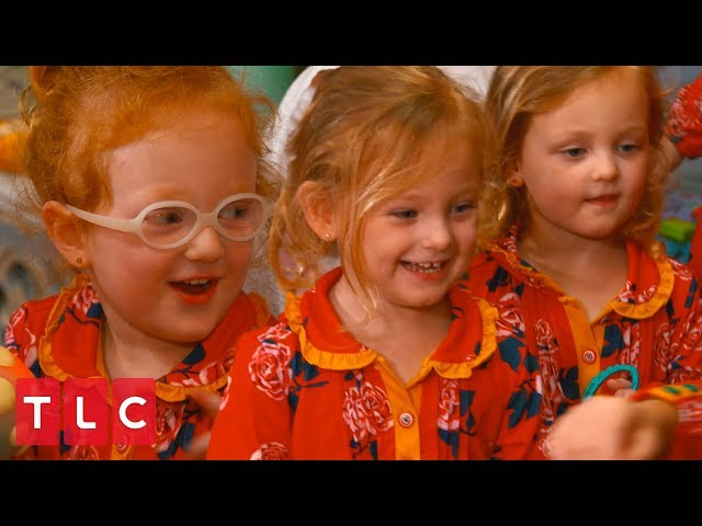 Christmas Morning at the Busby House!   OutDaughtered