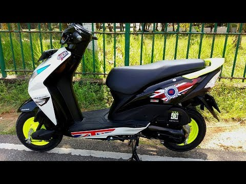 bike stickers design honda dio