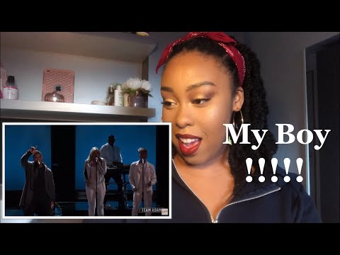 DeAndre Nico Performs 'Cry for You' - The Voice 2018 Live Top 11 Performances (Reaction) Mp3