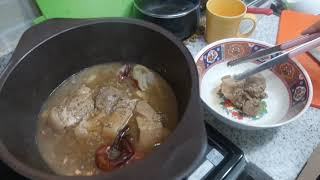 앞다리돼지고기수육 Boiled Pork Slices
