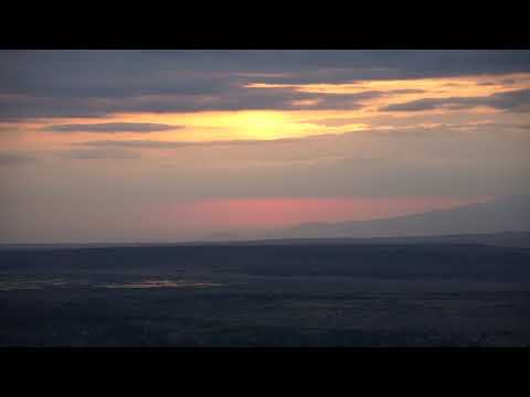 Sunrise at The Rift Valley in Tanzania (NO COMMENTARY)