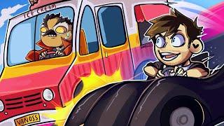 STOPPING VANOSS' ICE CREAM TRUCK!! - GTA 5 Funny Moments