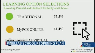 Pinellas School Board holds special meeting to discuss reopening plans