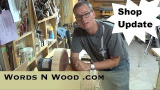 Shop Update: Nightstand Progress, Disc Sander, Dc Plans ...  (wnw #30)