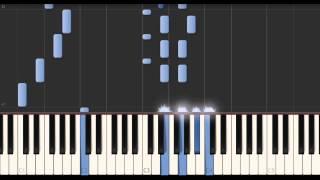 музыка из фильма кавказская пленница - Как играть на пианино (Synthesia)