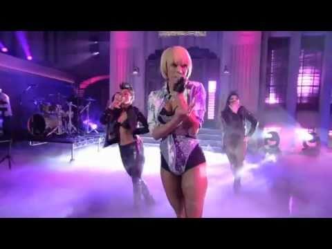 Keri Hilson performing 'Pretty Girl' live on Lopez Tonight -12/7/10