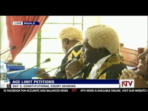 DAY 3 OF AGE LIMIT PETITIONS | CONSTITUTIONAL COURT HEARING CASE IN MBALE