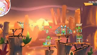 Angry Birds 2. Hard level:1076