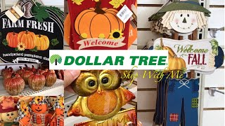 Dollar Tree Shop With Me EVERYTHING $1 Fall Home Decor & More! Compra Conmigo