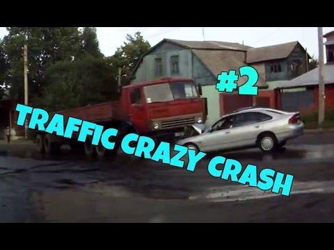 Amazing CAR CRASH COMPILATION - Crazy Traffic Accident - Best Dash Cam Crash Collision Part.2