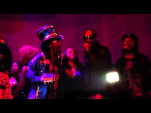 Snoop Dogg and Bootsy at Snoop's Funky 40th Birthday Party